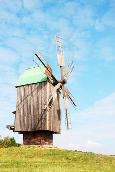Free Wind Mill Royalty Free Stock Photos - 20008598