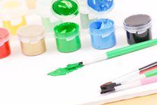 Free Using Green Paint Stock Photo - 20008860
