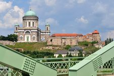 Free Photo Of Basilica Esztergom From Bridge,Hungary Stock Photo - 20008980