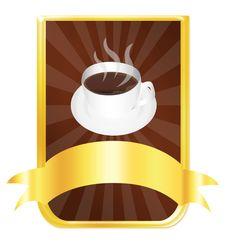 Free Coffee Label Stock Photos - 20009383