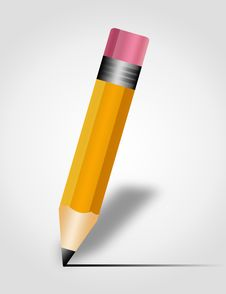 Free Pencil Illustration Royalty Free Stock Image - 20009486
