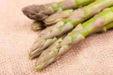 Free Asparagus On Hemp Stock Photos - 20009773
