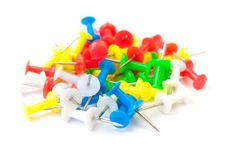 Free Colored Push Pins Royalty Free Stock Photo - 20009795