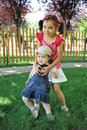 Free Loving Sisters Stock Image - 20013351