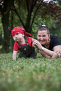 Free Happy Mom And Little Boy Stock Photography - 20013542