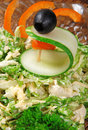 Free Salad With Cabbage Royalty Free Stock Images - 20018399