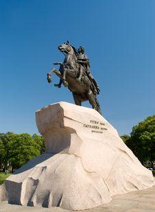 Free Bronze Horseman Stock Images - 20010454