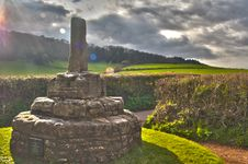 Free Monument In A Ray Of Light Stock Images - 20010564