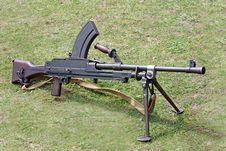 Free Machine Gun. Royalty Free Stock Photo - 20010575