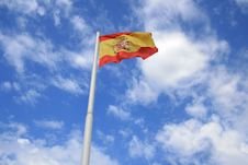 Spanish Flag Stock Photography