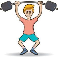 Free Lift Weighting Stock Photo - 20011450