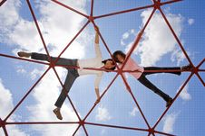 Free Mother And Daughter Fun. Royalty Free Stock Photography - 20011557