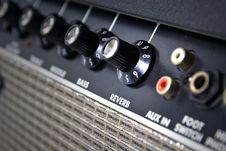 Free Closeup Of Amplifier Controls Royalty Free Stock Photography - 20011887