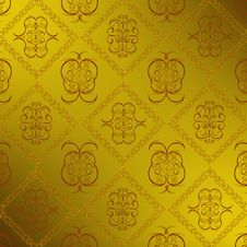Free Decorative Seamless Wallpaper Royalty Free Stock Photos - 20012248