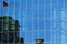 Free Glass Facade At The Bundestag Stock Photo - 20013340