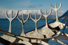 Free Solfar (Sun Voyager) In Reykjavik, Iceland Stock Photography - 20013472