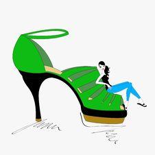 Free Smart Shoe Royalty Free Stock Image - 20013556