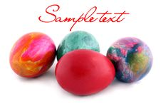 Free Colorful Easter Eggs Royalty Free Stock Images - 20013829