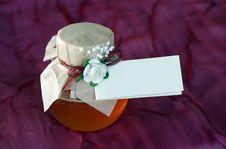 Free Honey Pot Royalty Free Stock Photo - 20013845