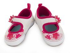 Free Baby Shoes Royalty Free Stock Photos - 20014148