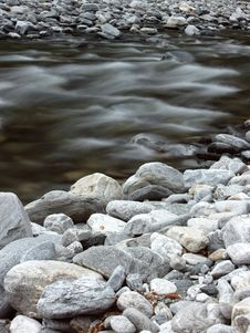 Free Beautiful Wild River In The Mountains Stock Photography - 20014702