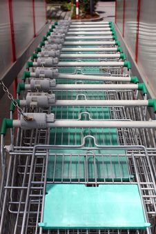 Free Shopping Carts Stock Photography - 20014752
