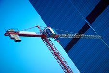 Free Tower Crane Royalty Free Stock Photos - 20014818