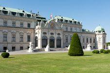 Free Belvedere Palace Vienna Stock Image - 20014911