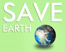 Free Save The Earth Royalty Free Stock Image - 20015196