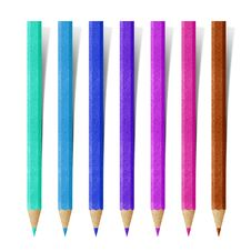 Free Color Pencil Paper Craft Stock Photo - 20015770