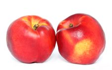 Free Two Nectarines Royalty Free Stock Photo - 20016305