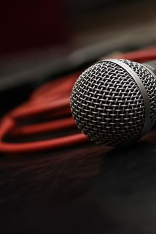 Free Microphone 3 Stock Photography - 20018042