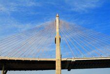 Free Bhumibol Bridge In Thailand Stock Photo - 20018050