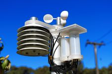 Free Scientific Weather Station Royalty Free Stock Images - 20018189