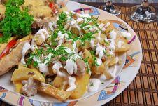 Baked Potato Royalty Free Stock Photos
