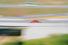 Free Red Racing Car Royalty Free Stock Photography - 20018407