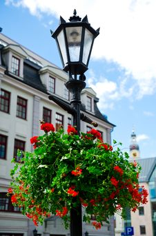 Old Riga In Summertime Royalty Free Stock Photos