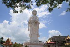 Statue Of The Big Buddha Stock Photography