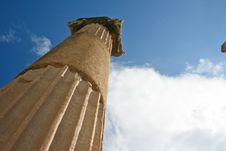 Temple Of Ephesus Royalty Free Stock Images