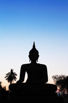 Free Big Image Of Buddha Stock Photography - 20018942