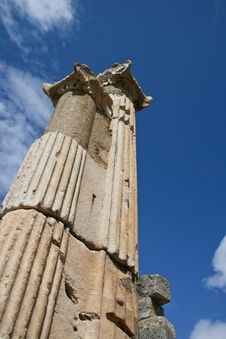 Temple Of Ephesus Stock Photos