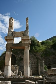 Free Temple Of Ephesus Stock Images - 20018984
