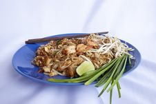 Free Pad Thai,Creative Food Thai. Stock Photo - 20019180