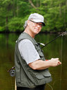 Free Fly Fisherman Royalty Free Stock Photography - 20022777
