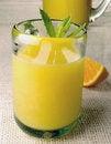 Free Orange Juice With Mint Stock Image - 20024401