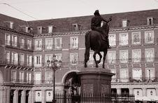 Free Plaza Mayor Square Royalty Free Stock Images - 20020019
