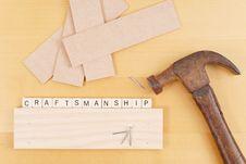 Free Craftsmanship Stock Photography - 20020672
