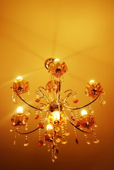 Free Chandelier Royalty Free Stock Photos - 20021668