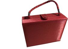 Free Red Make-up Bag. Stock Photography - 20021742