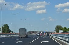 Free Road And Clouds Stock Photography - 20022242